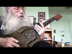 Slide Guitar Blues Lesson - Ramblin Blues In Open G Tuning. Slide Guitar And Ramblin Are The Blues! Best Acoustic Guitar, Guitar Songs, Guitar Tabs, Guitar Chords, Box Guitar, Acoustic Guitars, Bass Guitars, Ukulele, Blues Guitar Lessons