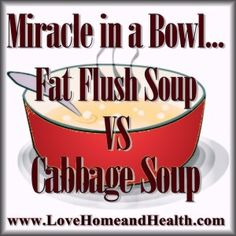 via @thekatydid - Well, the grand thing about these 2 soup diets is that either one will absolutely help you lose 7 to 10 pounds in just one week! www.LoveHomeandHealth.com