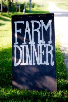 Four Season Farm Dinners