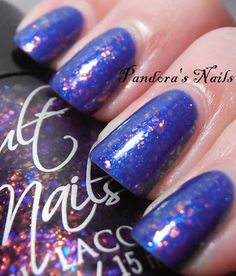 Cult Nails Seduction over A-England Order of the Garter