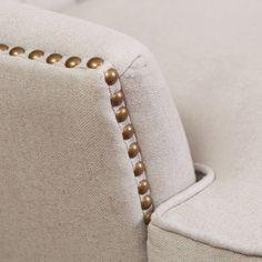 Alfred Royal Vintage Design Upholstered Arm Chair