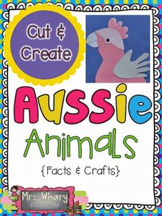 Hi everyone, We're settling in to our new life in Australia.I have a NEW Kindergarten teaching position that I will start next. Australia School, Australia Day, Australia Crafts, Saltwater Crocodile, Animal Activities, Culture Activities, Multicultural Activities, Science Activities, Quokka