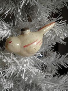 Collector Vintage Christmas Glass Ornament by FingerLakesFinds, $14.99