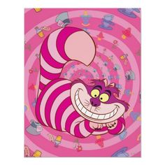 Cheshire Cat Poster #cats alice in wonderland #disney