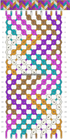 Braceletbook.com Normal pattern #2193
