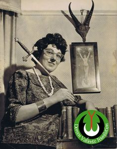 Doreen Valiente remains, simply, the most influential woman in the world of modern Witchcraft. Her fame and achievements are only surpassed by her popularity and respect among the world's Pagan community. Uniquely personable, especially in her writings, she left a legacy far deeper than the mere material. The Doreen Valiente Foundation, a charitable organisation with ambitions to share, celebrate, research and preserve her legacy - eventually in a permanent museum.