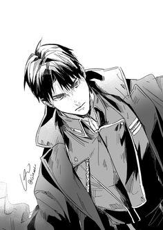 Ushijima Wakatoshi from Shiratorizawa Academy Haikyuu Ushijima, Ushijima Wakatoshi, Kagehina, Manga Art, Anime Manga, Anime Art, Haikyuu Fanart, Haikyuu Anime, Fanarts Anime