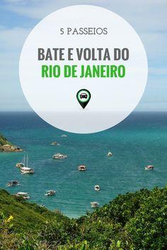 Veja 5 passeios pra fazer bate e volta do Rio de Janeiro - Tema Praias #brasil #brazil #riodejaneiro #beach