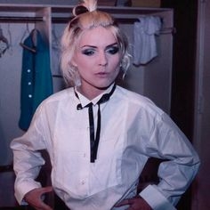 """""""Debbie Harry photographed by Chris Stein, 70s """""""