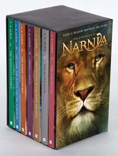 The Chronicles of Narnia is a series of seven high fantasy novels by author C.S. Lewis. It is considered a classic of children's literature and is the author's best-known work, having sold over 100 million copies in 47 languages. Written by Lewis between 1949  1954, illustrated by Pauline Baynes and originally published in London between October 1950  March 1956, The Chronicles of Narnia has been adapted several times for radio, television, the stage, and film. #book #boxset