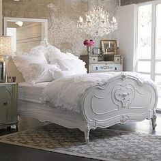French Country Bed... Love this!