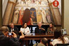 Press Conference with Steve McCurry, Catiuscia Marini (President of the Umbria Region), Fabrizio Bracco (Local authority for Culture and Tourism of the Umbria Region) #McCurry #SensationalUmbria #SU14 #Perugia #mostra #Fotografia #Photography #exhibition #Umbria