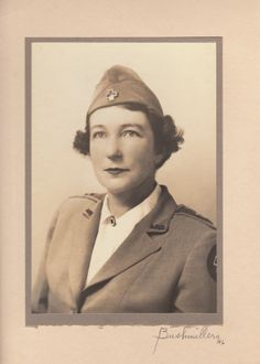 My grandmother - Red Cross WWIi