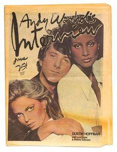 MAGAZINE Interview Cover art by Richard Bernstein June 1976