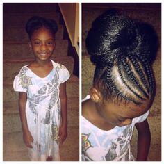 Black little girl hair styles cornrows braids natural toddler little black girls hairstyles quick hairstyles hairstyles for little girls bow made with urmus Images