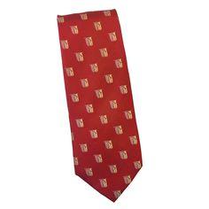 Theta Chi Shield Silk Tie