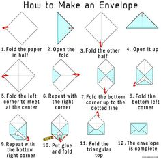 How Do You Make An Envelope Out Of Construction Paper - I took the envelope of paper. Bright colored paper to make it attractive. How To Make Your Own Origami Envelope From Paper The piece sho. Diy Paper, Paper Crafts, Book Page Crafts, Tissue Paper, How To Make An Envelope, How To Make Envelopes, Making Envelopes, How To Make Letters, Envelope Art
