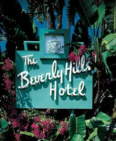 Beverly Hills Hotel - My grandfather used to play piano in the lounge here in the 1940s.