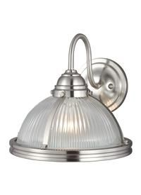 41060-962,One Light Wall Sconce,Brushed Nickel