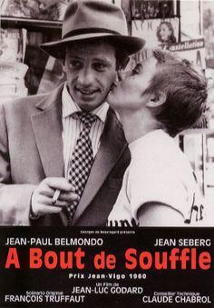 """""""A bout de souffle """"  Film intégral  À bout de souffleest unfilmfrançais, emblématique de laNouvelle Vague, réalisé parJean-Luc Godard, sorti en1960.  Jean-Luc Godard  Jean-Paul Belmondo  Jean Seberg"""