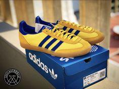 @Geshmesh showing us the new Adidas Spezial SS21 drop Malmo Net Spzl HO3906 💙💛