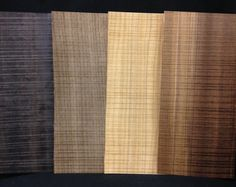 Textured Rough Cut veneer collection from Ultra Wood Products.