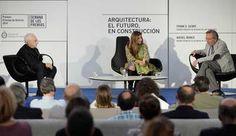 Encuentro entre Gehry y Moneo en Gijón. Entre el arte y el negocio / C. Jiménez. Diario La Nueva España . Sección Opinión. 24/10/ 2014