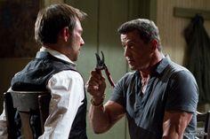 "Sylvester Stallone (""Jimmy Bobo"") und Christian Slater (""Marcus Baptiste"") in Shootout - Keine Gnade  Ab 7. März 2013 im Kino!"