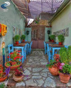 Pavliani, Karditsa - Greece! Al Fresco Dining, What A Wonderful World, Heaven On Earth, Greece Travel, Santorini, Wonders Of The World, Greek, Places To Visit, Patio