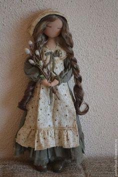 Коллекционные куклы ручной работы. Ярмарка Мастеров - ручная работа ВЕРБА УЖЕ…