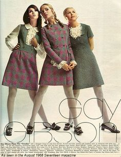 1968 May Gay Gibson - Colleen Corby Cay Sanderson Sally Gates