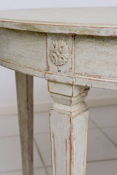 Scandinavian Swedish Antique Painted Dining Table