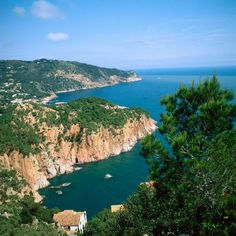 Cape of Begur and Aiguablava, Costa Brava, Girona province, Catalonia.