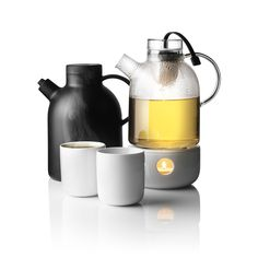 Menu glass kettle teapot and heater | Is To Me