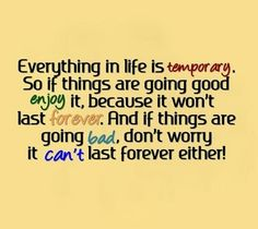 Everything in Life