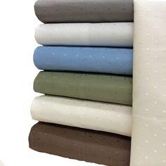 Woven Dots 600 Thread Count CalKing Sheets $69.99 www.scotts-sales.com