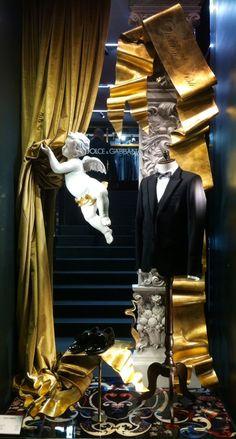 "DOLCE&GABBANA,Milan Italy,""Revealing the Christmas Season"", pinned by Ton van der Veer"