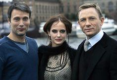 Modern Girls & Old Fashioned Men Rachel Weisz, Eva Green, Daniel Craig James Bond, Bond Girls, Casino Royale, Daniel Graig, Image Film, Best Bond, James Bond Movies