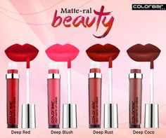 #Matte is back! Grab your stand out lip look essentials from ColorBar: http://bit.ly/Deep_Matte_Lip_Creme