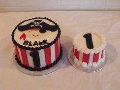 Pirate 1st Birthday Cake
