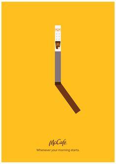 Human Clock | Leo Burnett Canada & Leo Burnett Vietnam | McDonald's | D&AD Awards 2020 Shortlist | Poster Advertising Campaigns | D&AD Create Awareness, Advertising Campaign, Print Ads, Vietnam, Leo, Awards, Canada, Messages, Poster