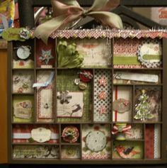 christmas shadow boxes - Google-Suche