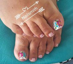 Nail Art, Vestidos, Simple Toe Nails, Yellow Nails, Nail Arts, Nail Art Designs
