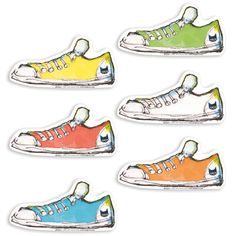 Pete the Cat Groovy Shoes Accents (EP3233)