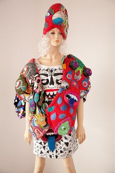 Elena Stonaker makes incredible quilted costumes and clothes
