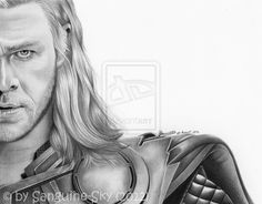 The Avengers half series - Thor by Sanguine-Sky on DeviantArt