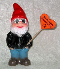 Brummelbär... der Gartenzwerg hat echt Humor. www.zwergen-power.com