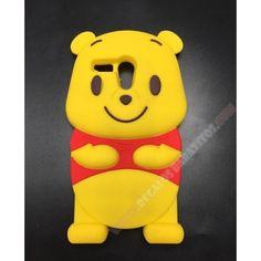 Carcasa Motorola Moto G diseño Winnie the Pooh muñeco 3D