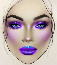 Neueste Make-up Puder . Best Mac Makeup, Fx Makeup, Makeup Inspo, Makeup Inspiration, Beauty Makeup, Latest Makeup, Drugstore Beauty, Makeup Eyeshadow, Mac Face Charts