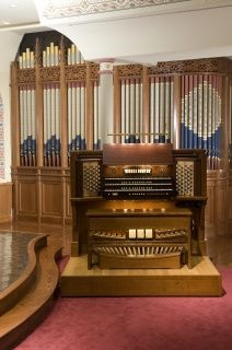 Schoenstein Organ at Christ and St. Stephen's Church, New York City.